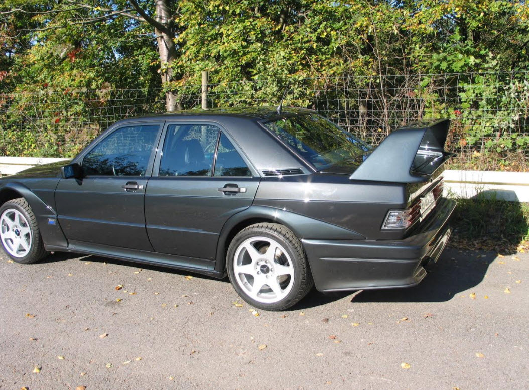 dirtyoldcars.com 1990 Mercedes 190E 2.5 EVO II Found in Germany 9