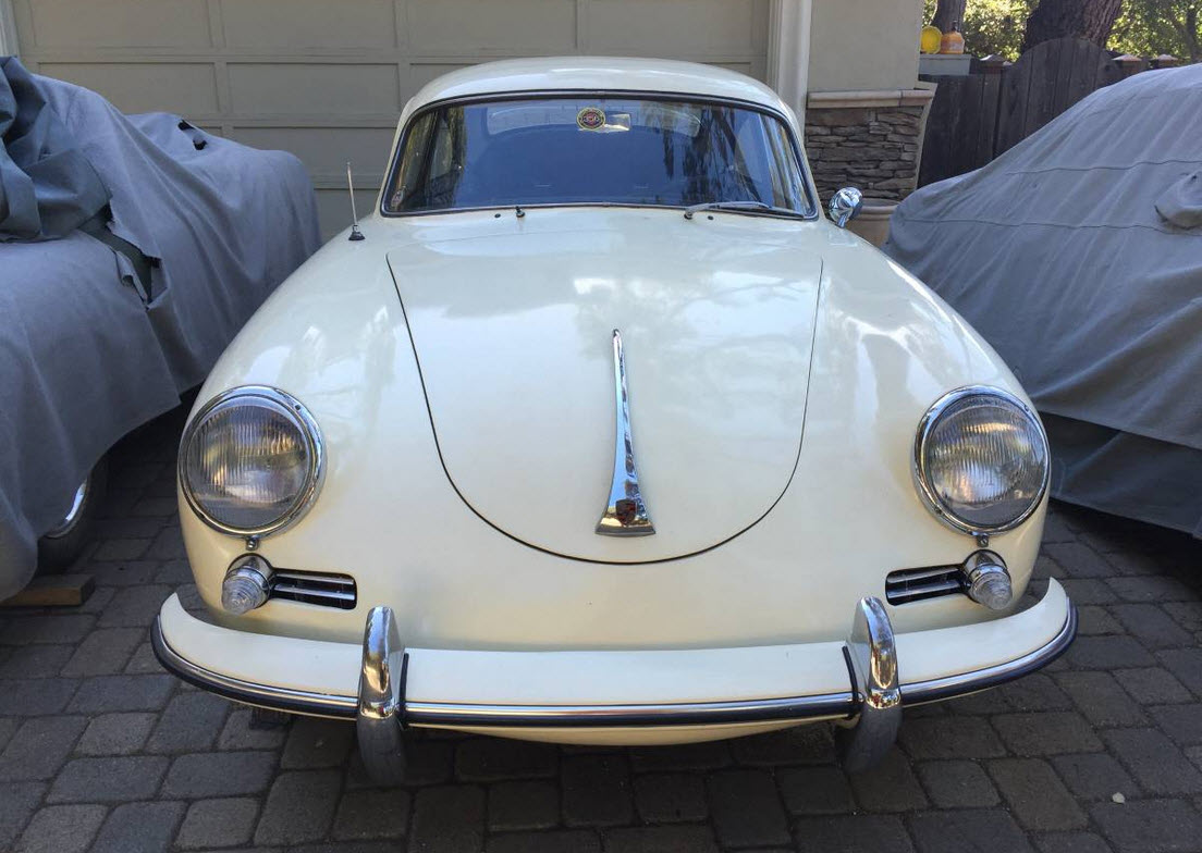 dirtyoldcars.com 1961 Porsche 356 Coupe Found in Los Gatos California 8