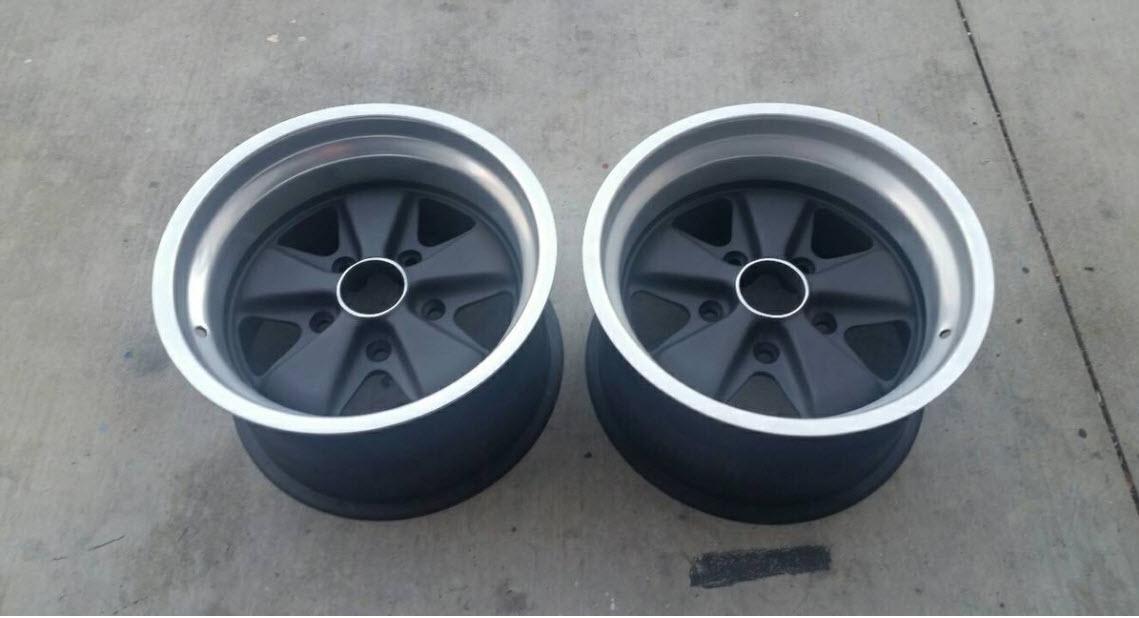 dirtyoldcars.com Porsche 911 RSR Fuchs 15 x 9 Wheels Found in Orange California 9