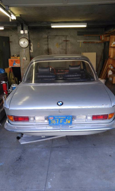 dirtyoldcars.com 1967 BMW 2000 CS Alpine Edition 9