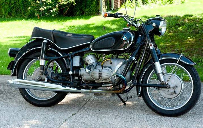 dirtyoldcars.com   1968 BMW 69S Motorcycle Found in Ohio   5