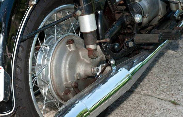 dirtyoldcars.com   1968 BMW 69S Motorcycle Found in Ohio   4