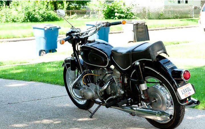 dirtyoldcars.com   1968 BMW 69S Motorcycle Found in Ohio   2