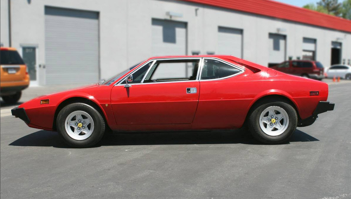 dirtyoldcars.com   1978 Ferrari 308 GT4 Dino    5