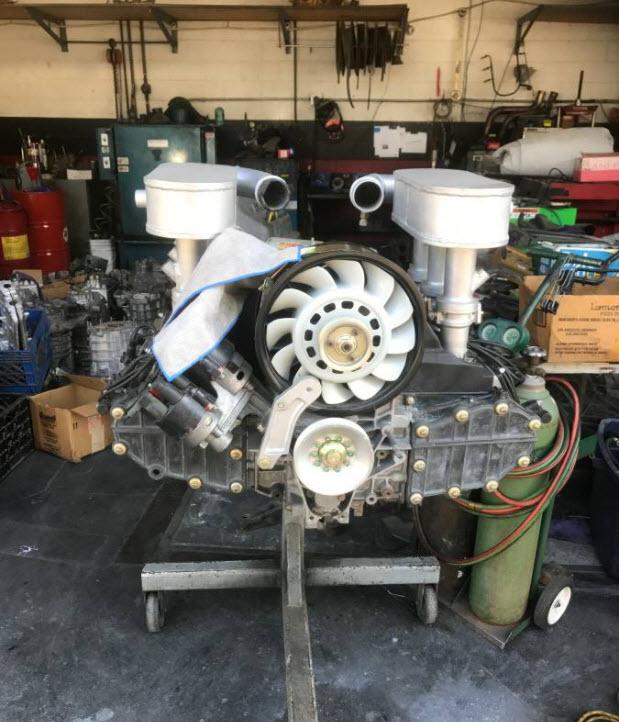 dirtyoldcars.com Porsche 4.0 Liter Engine Found in Van Nuys 3