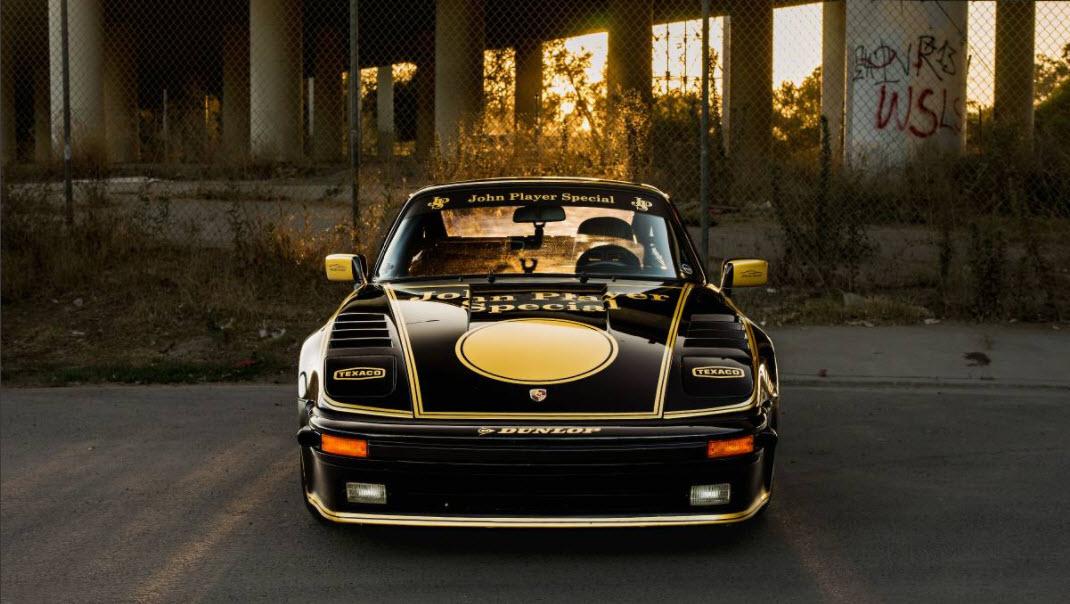 dirtyoldcars.com  1969 Porsche 911 Slantnose John Player Special Found in Lake Balboa   9