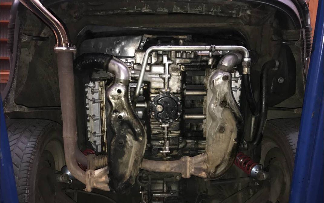 dirtyoldcars.com  1969 Porsche 911 Slantnose John Player Special Found in Lake Balboa   7