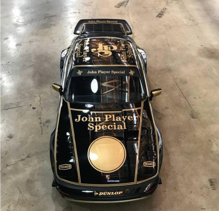 dirtyoldcars.com 1969 Porsche 911 Slantnose John Player Special Found in Lake Balboa 11