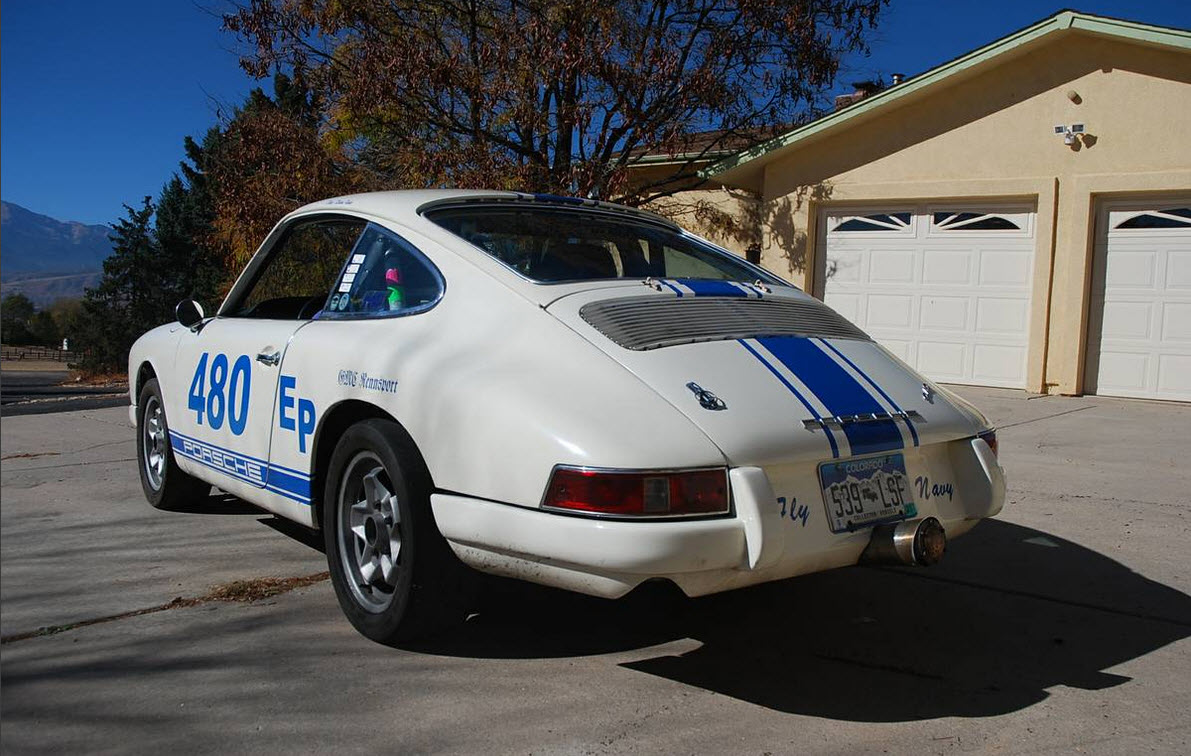 1966 Porsche 912 Vintage Race Car Dirty Old Cars