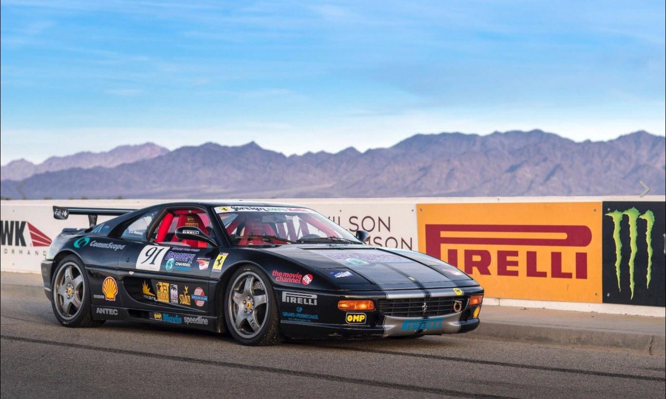 dirtyoldcars.com 1998 Ferrari 355 Factory Challenge Car Found in Mesa Arizona 11