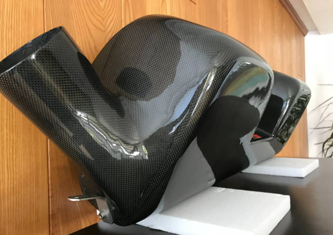 dirtyoldcars.com   Novitec Rosso Ferrari 430 Carbon Airbox Found in Encino   3