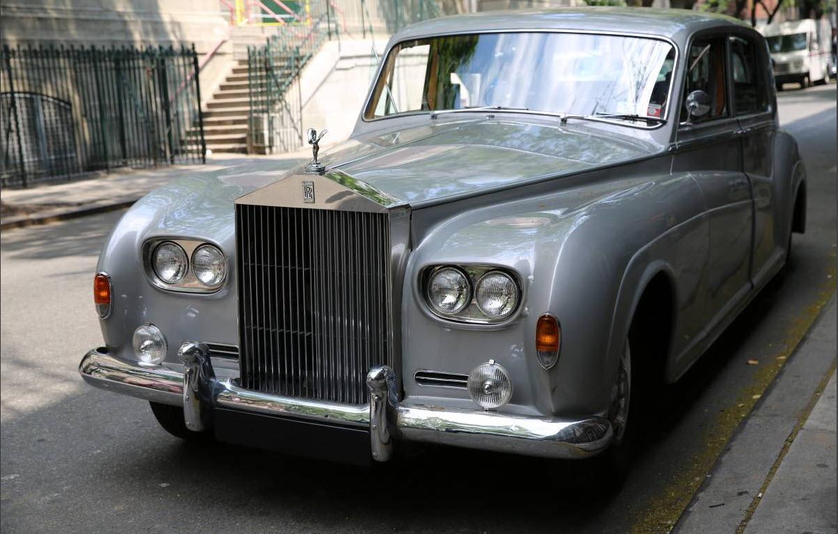 dirtyoldcars.com Elvis Presley's 1963 Rolls Royce Phantom V 3
