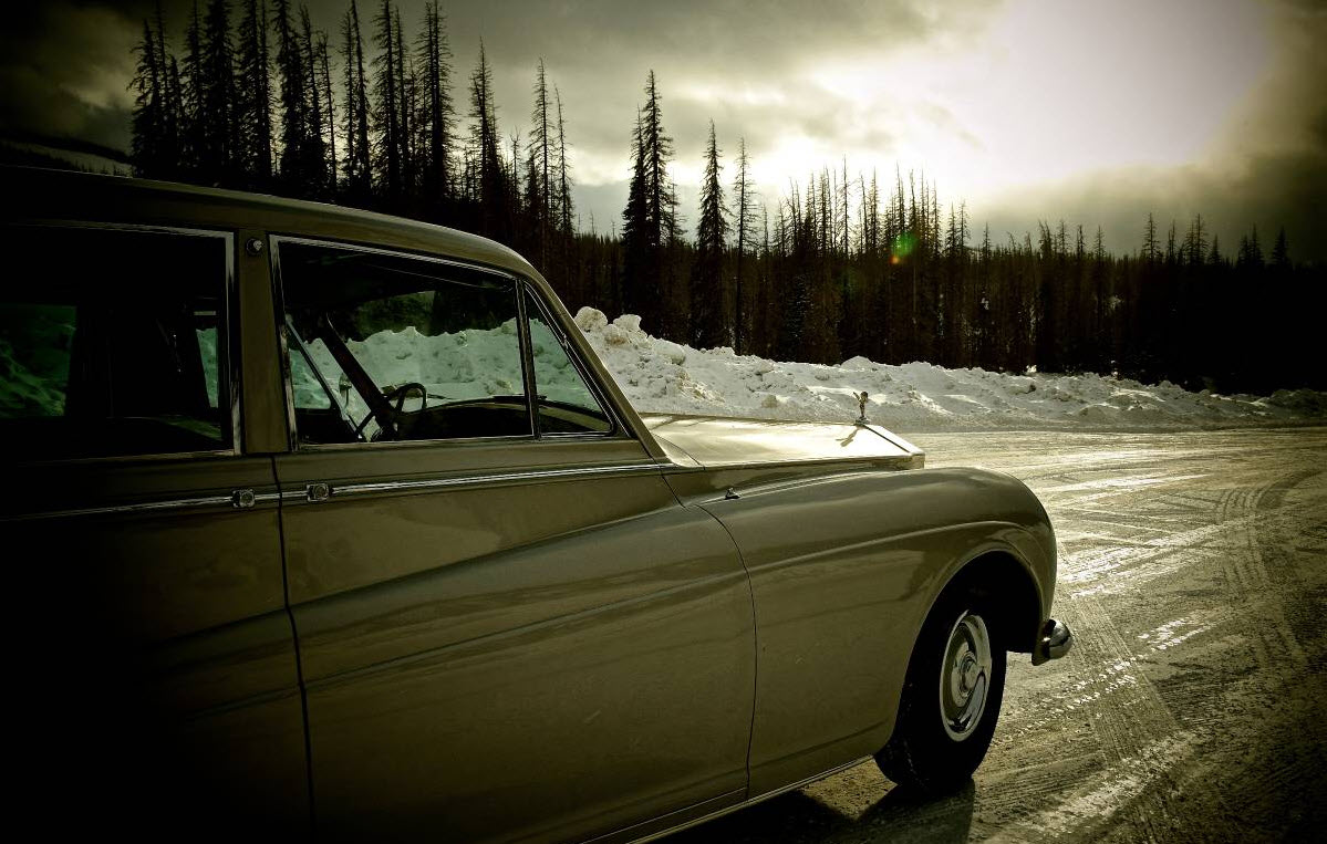 dirtyoldcars.com Elvis Presley's 1963 Rolls Royce Phantom V 1