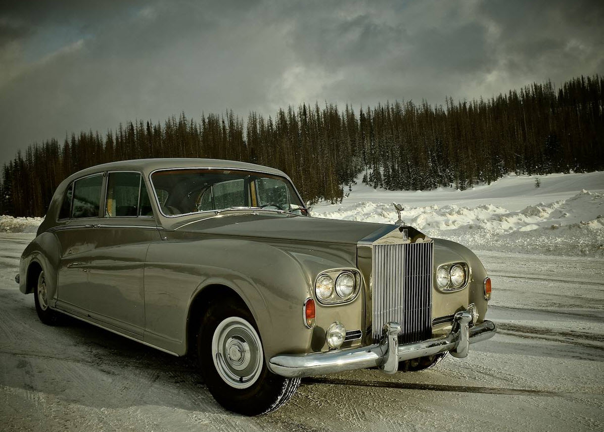 dirtyoldcars.com Elvis Presley's 1963 Rolls Royce Phantom V 4