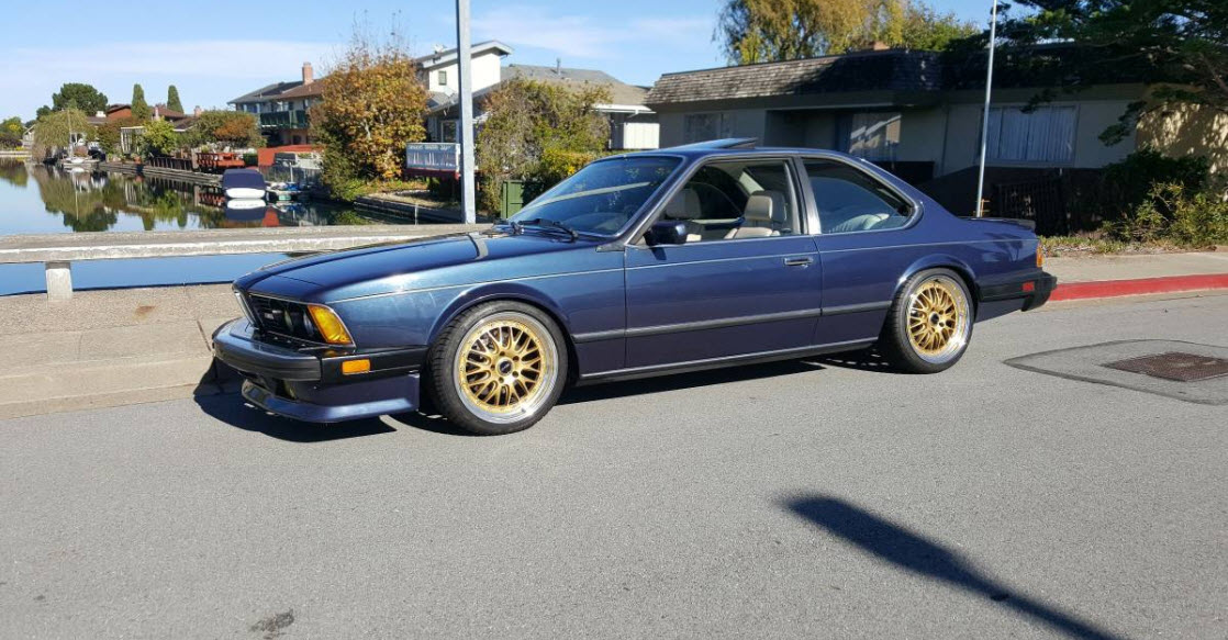 dirtyoldcars.com   1987 BMW M6 E24 Found in San Mateo  California   Blue   13