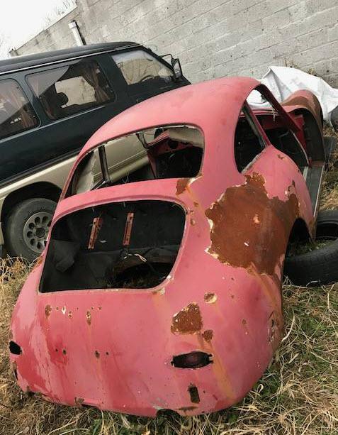 dirtyoldcars.com  1963 Porsche 356SC Shell Found in Philadelphia Pennsylvania  VIN 116439  Porsche   3