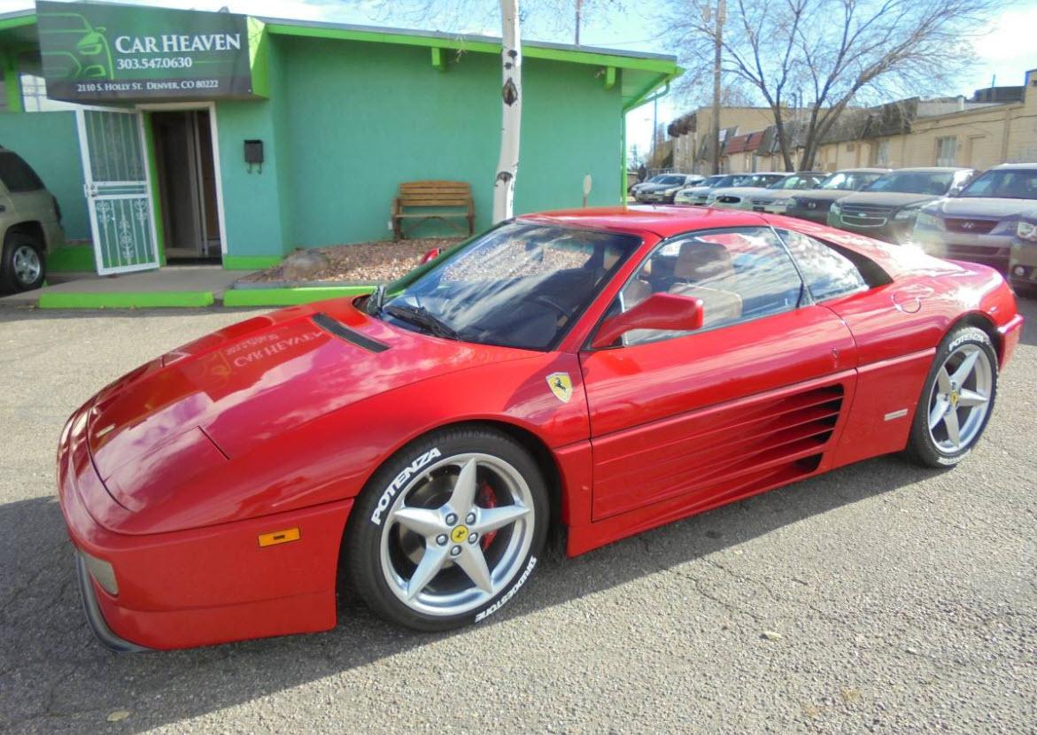 dirtyoldcars.com   1990 Ferrari 348TS Found in Denver    9