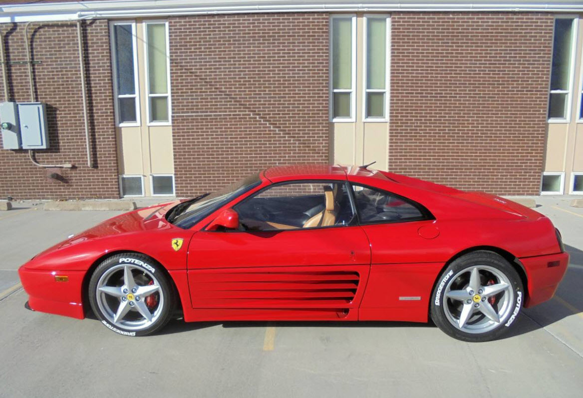 dirtyoldcars.com 1990 Ferrari 348TS Found in Denver 10