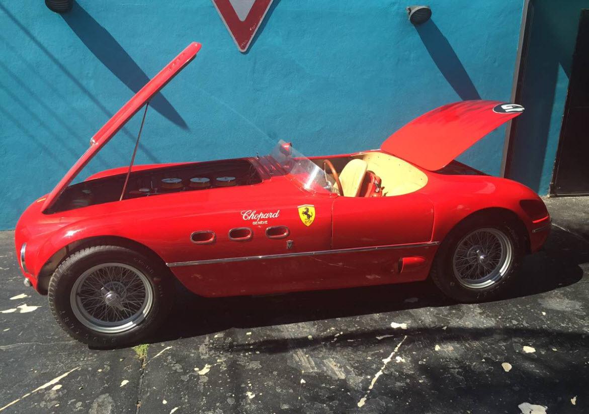 dirtyoldcars.com 1960 Ferrari 250MM Tribute Found in the UK 7