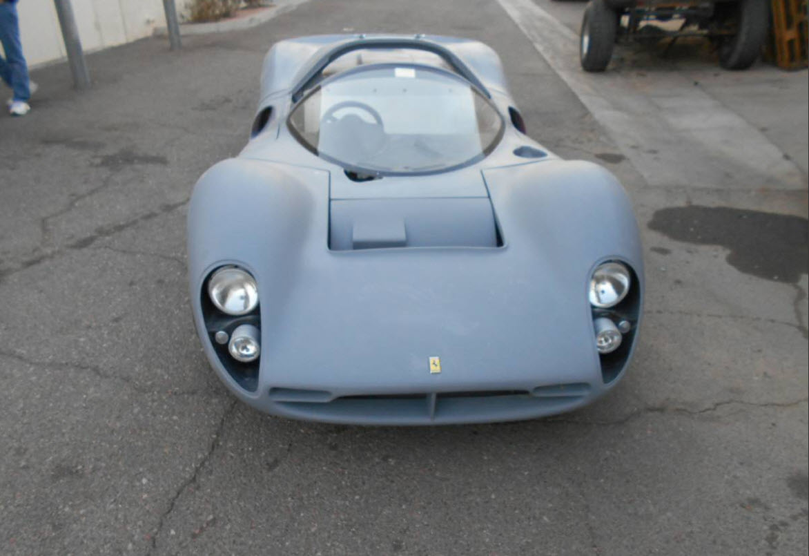 dirtyoldcars.com 1967 Ferrari 330 P4 Recreation Found in Arizona 7