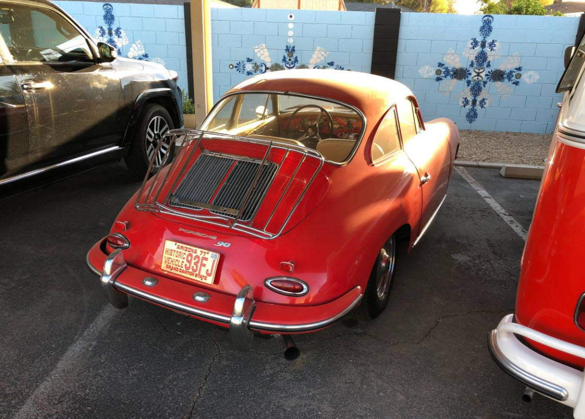 dirtyoldcars.com 1963 Porsche 356 Super 90 Found in Arizona 5