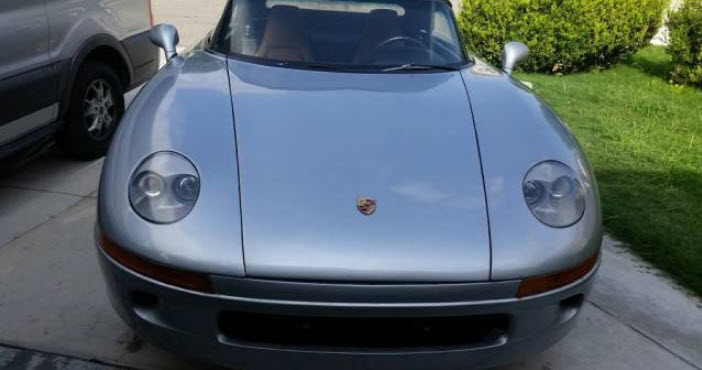 dirtyoldcars.com 1990 Porsche 928 S4 Spyder Convertible Found in Los Angeles 6