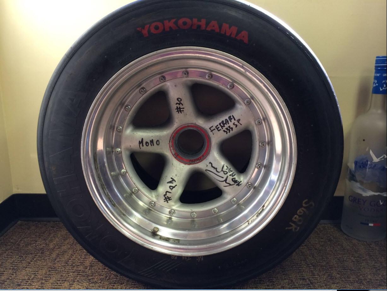 dirtyoldcars.com MOMO Ferrari 333SP Wheel Found in West Palm Beach 8