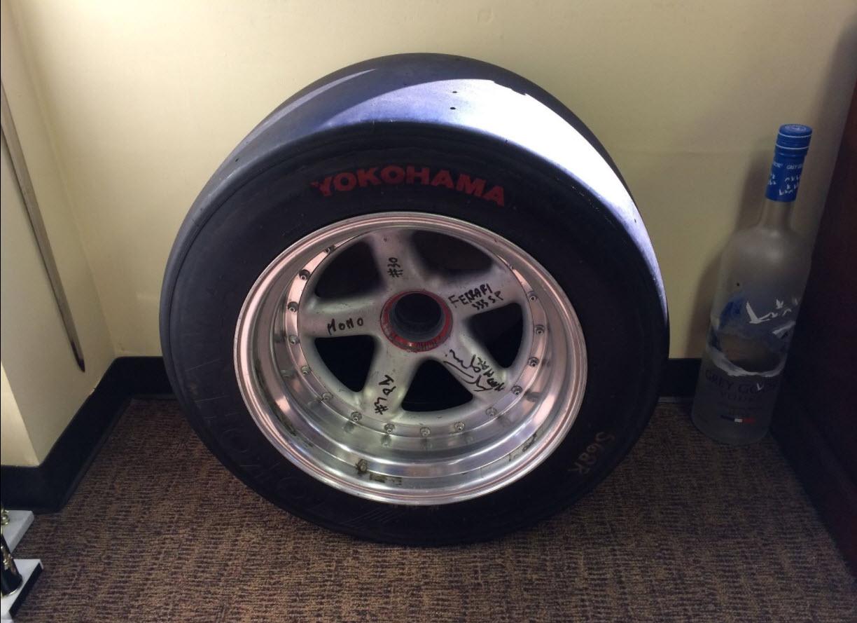 dirtyoldcars.com MOMO Ferrari 333SP Wheel Found in West Palm Beach 7
