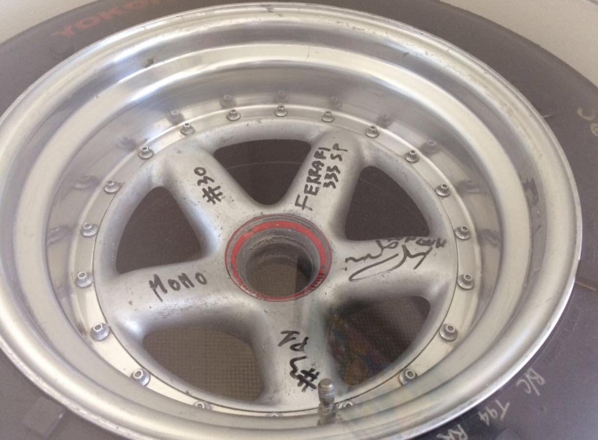 dirtyoldcars.com MOMO Ferrari 333SP Wheel Found in West Palm Beach 4