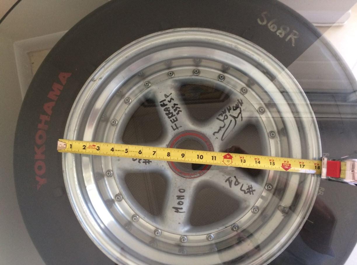 dirtyoldcars.com MOMO Ferrari 333SP Wheel Found in West Palm Beach 3