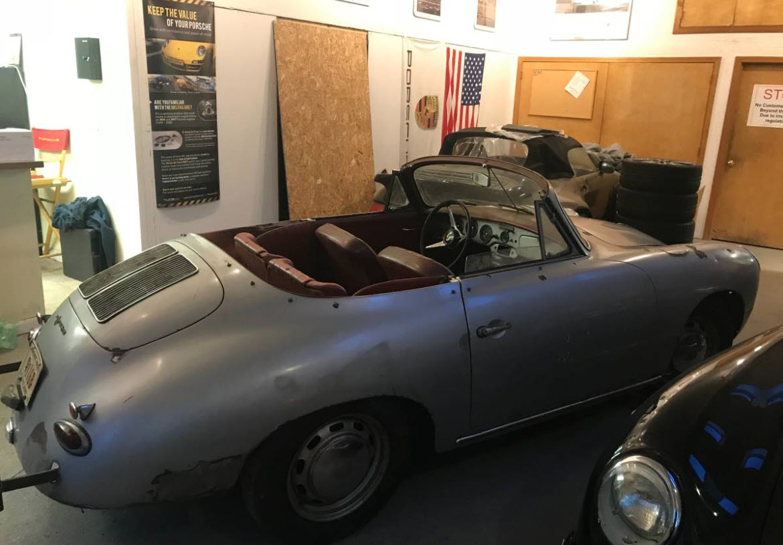 dirtyoldcars.com  1964 Porsche 356 Cabriolet Found in Shrewsbury  Boston  5