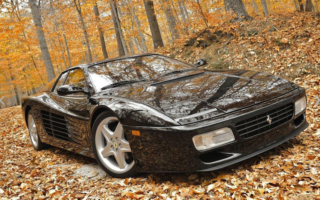 dirtyoldcars.com    1994 Ferrari 512TR Found in New York   4
