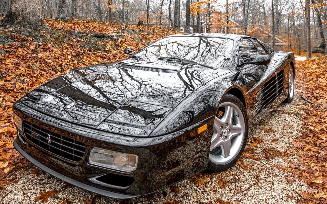 dirtyoldcars.com    1994 Ferrari 512TR Found in New York   1