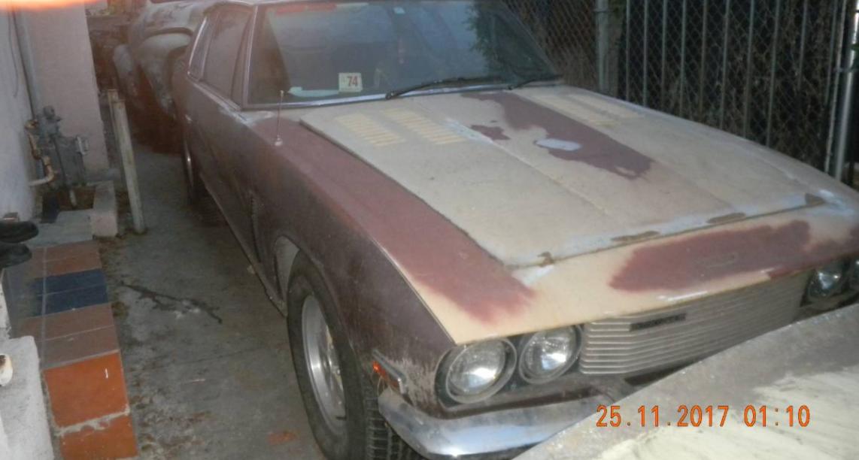 dirtyoldcars.com  1974 Jensen Interceptor Found in Los Feliz   4