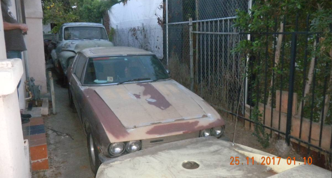 dirtyoldcars.com  1974 Jensen Interceptor Found in Los Feliz   3