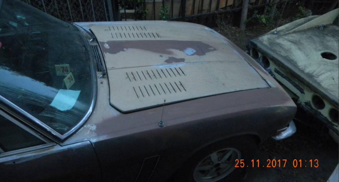 dirtyoldcars.com  1974 Jensen Interceptor Found in Los Feliz   2
