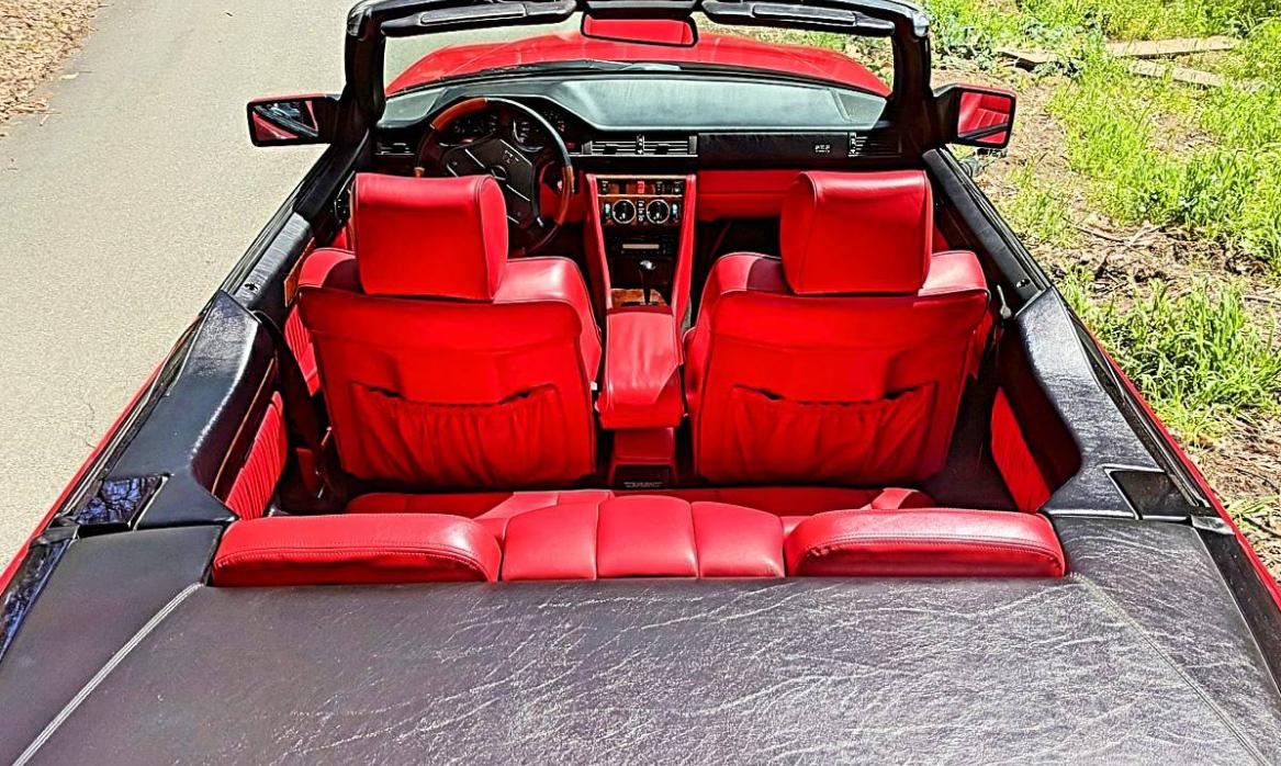 dirtyoldcars.com  1994 Mercedes E320 AMG Cabriolet Found in Redondo Beach Calfiornia  7