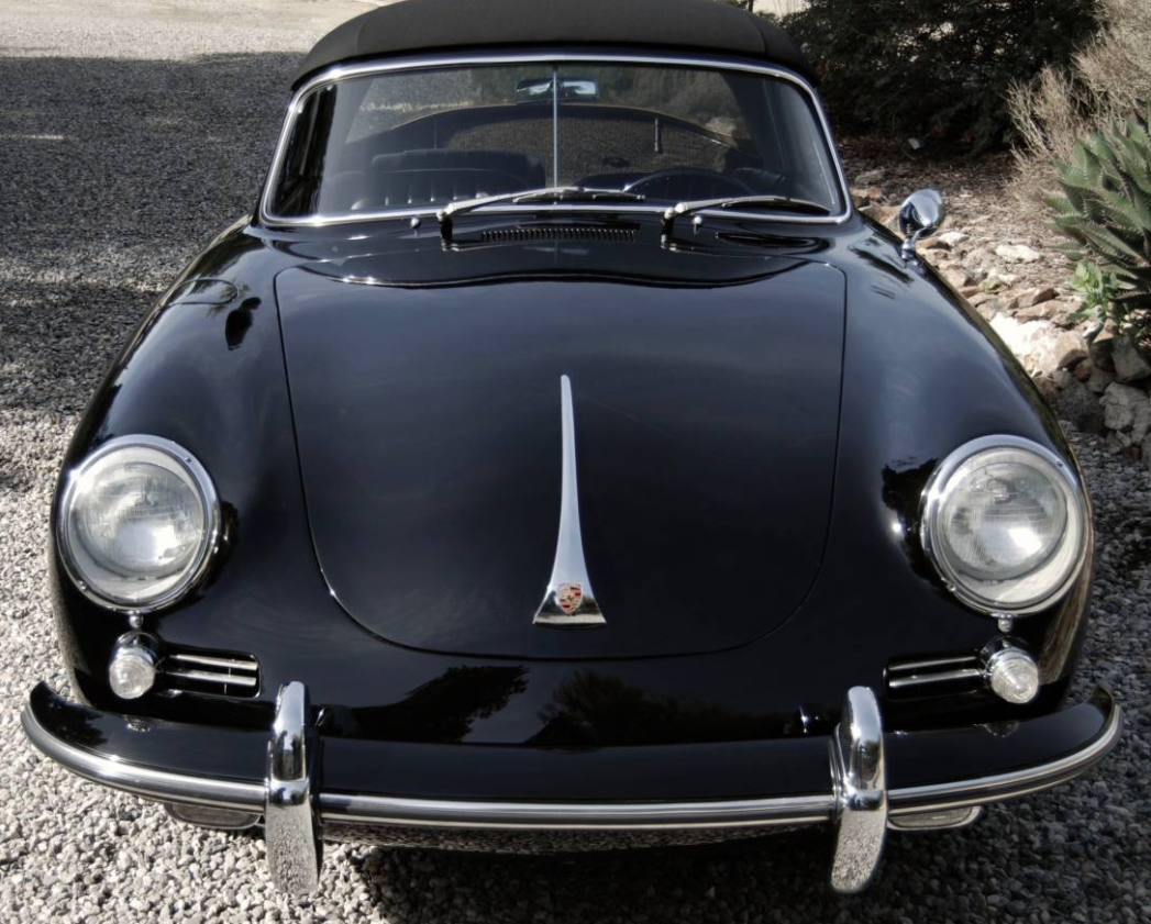 dirtyoldcars.com 1965 Porsche 356C Cabriolet Found in Studio City 8