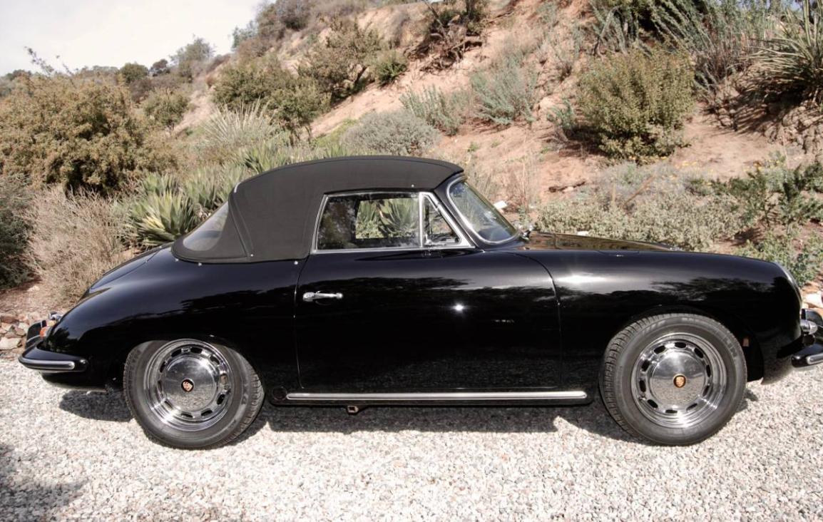 dirtyoldcars.com 1965 Porsche 356C Cabriolet Found in Studio City 2