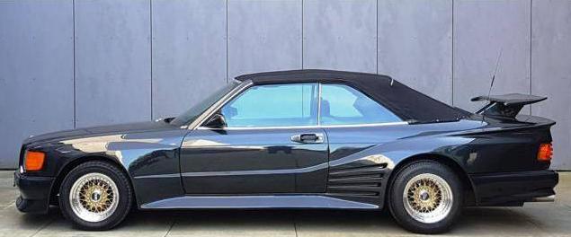 dirtyoldcars.com 1989 Mercedes-Benz 560 SEC KOENIG Found in Germany 9