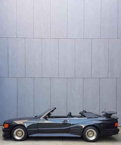 dirtyoldcars.com 1989 Mercedes-Benz 560 SEC KOENIG Found in Germany 1