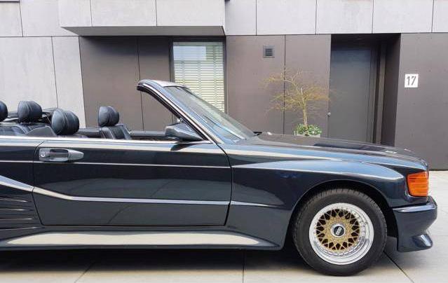 dirtyoldcars.com 1989 Mercedes-Benz 560 SEC KOENIG Found in Germany 6