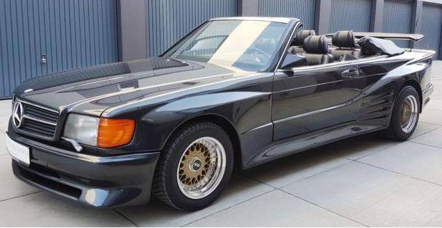 dirtyoldcars.com 1989 Mercedes-Benz 560 SEC KOENIG Found in Germany 5