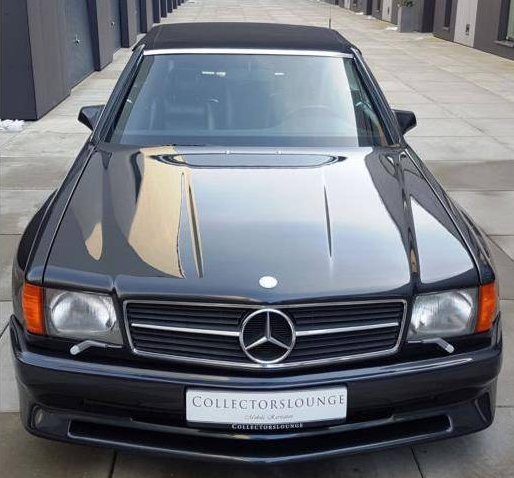 dirtyoldcars.com 1989 Mercedes-Benz 560 SEC KOENIG Found in Germany 4