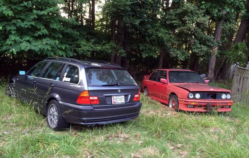 dirtyoldcars.com 1990 BMW M3 Found in Boston 2