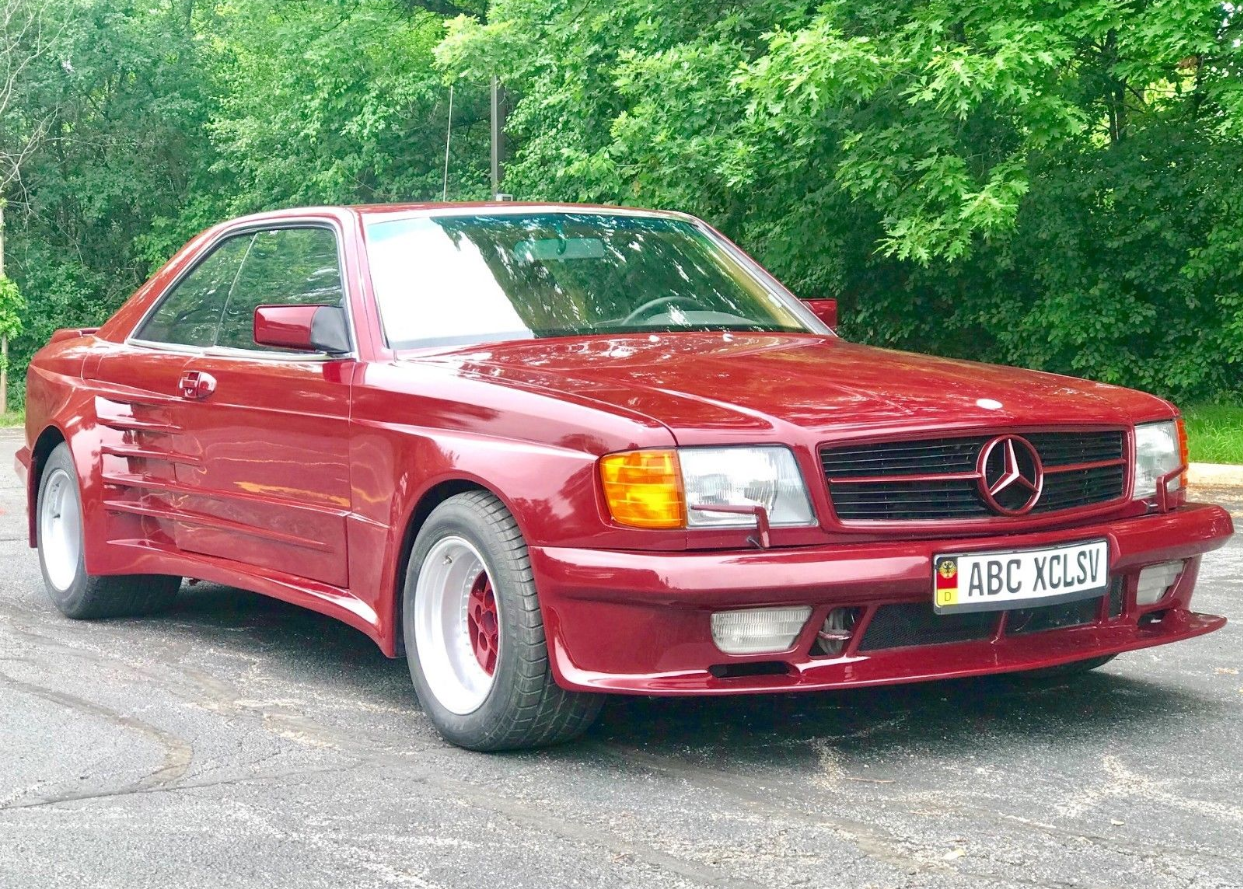 dirtyoldcars.com   1986 Mercedes 560SEC  Koenig Special Found in Illinois  9