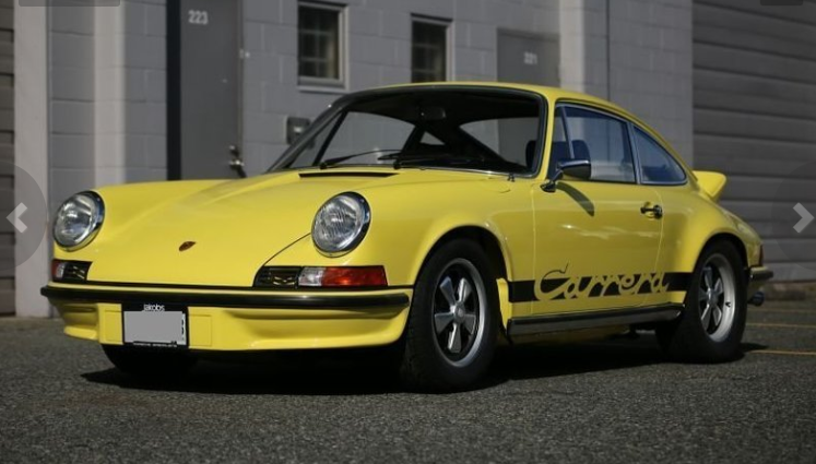 dirtyoldcars.coms 1973 Porsche 911 Carrera RS M472 Touring Found in Florida 8