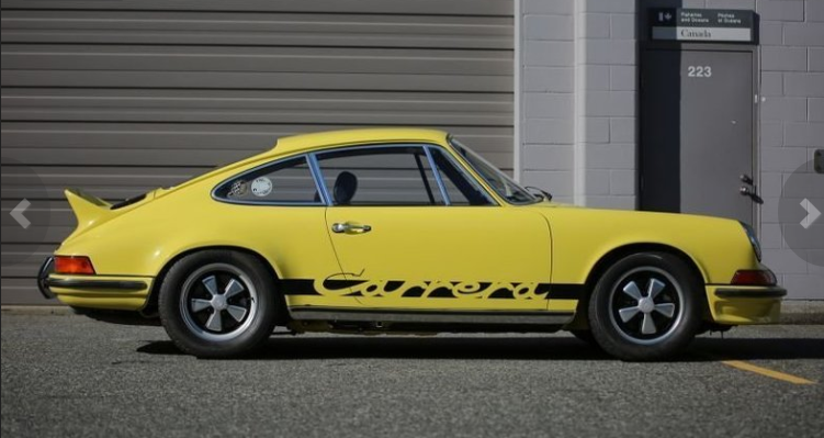 dirtyoldcars.coms 1973 Porsche 911 Carrera RS M472 Touring Found in Florida 6