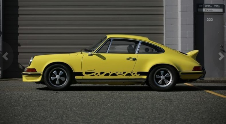 dirtyoldcars.coms 1973 Porsche 911 Carrera RS M472 Touring Found in Florida 5