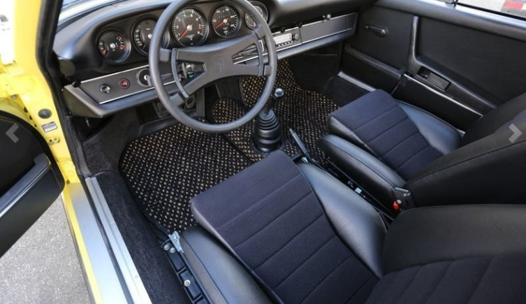 dirtyoldcars.coms 1973 Porsche 911 Carrera RS M472 Touring Found in Florida 3